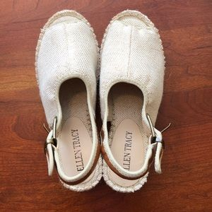July 4th 🇺🇸 Sale! Ellen Tracy espadrille sandals